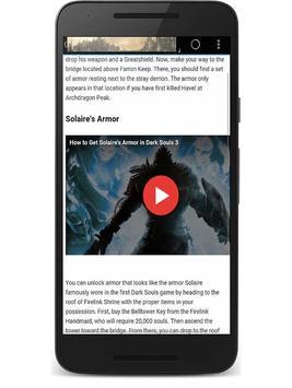 Guide for Dark Souls 3 apk screenshot