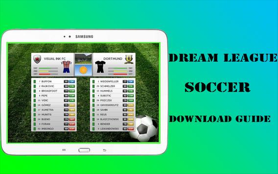 Guide Dream League Soccer 16 apk screenshot