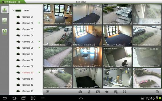 TruVision TVRmobile HD(Tablet) apk screenshot