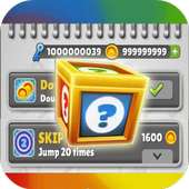 Unlimited Subway Coins Keys icon