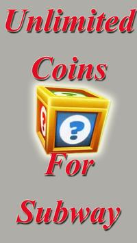 Unlimited Subway Coins Keys apk screenshot