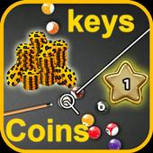 Keys & Coins 8 Ball Pool icon