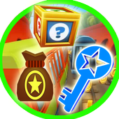 Unlimited keys Coins icon