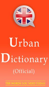Urban English Dictionary poster
