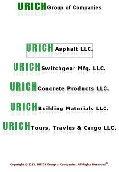 Urich Group of Companies poster