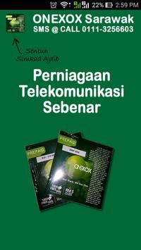 ONEXOX Sarawak poster