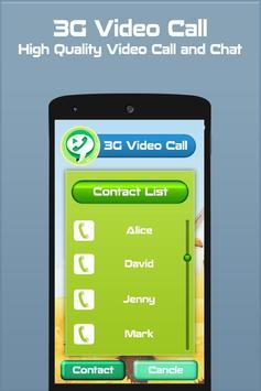 3G Video Call apk screenshot
