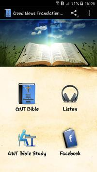 Good News Translation Bible poster