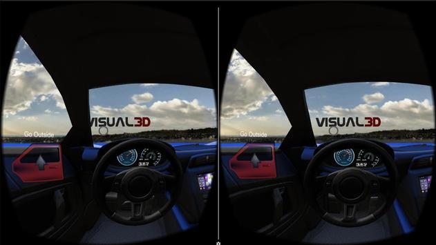 Visual3D VR Car Demo apk screenshot