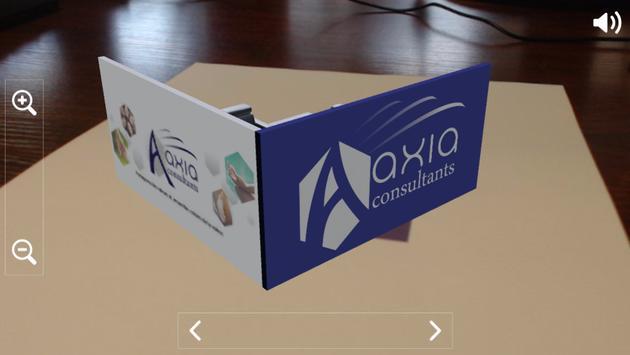 Aaxia carte de visite 3D apk screenshot
