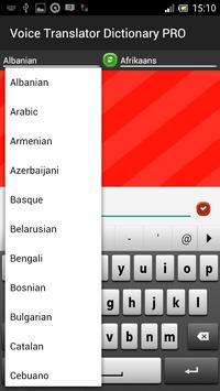 Voice Translator Dictionay PRO apk screenshot