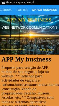 Web Network Comunications apk screenshot