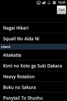 JKT48 Lyric & Chord apk screenshot