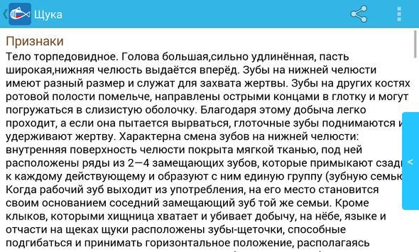 Рыбы России apk screenshot