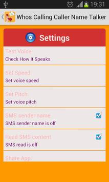 Whos Calling Caller Name Talke apk screenshot
