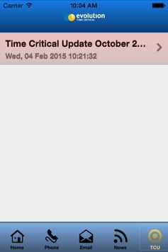 Evolution Time Critical apk screenshot