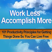 Work Less Accomplish More icon