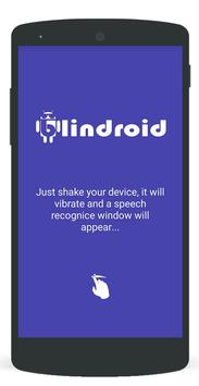 Blindroid apk screenshot