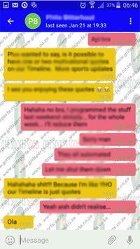 Xoxa Messenger apk screenshot