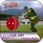 T20 World Cup Schedule 2016 icon