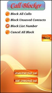 XS Call Blocker apk screenshot