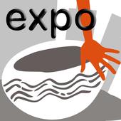 Mãos no barro da cidade EXPO icon