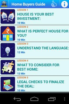 Home Buyers Guide poster