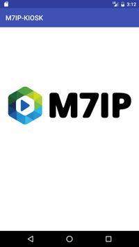 M7IP - Kiosk poster