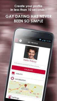 CYBERMEN : Gay chat & dating apk screenshot