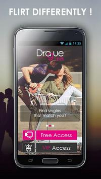 DRAGUE.NET : free dating poster