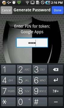 CRYPTOCard MP-1 Authentication apk screenshot