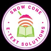 SnowCone E-Text icon