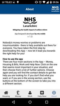 Lanarkshire Money Worries apk screenshot
