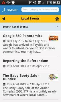 CityLocal UK apk screenshot