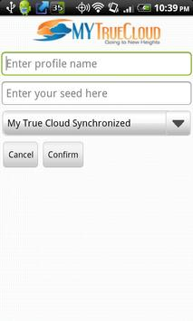 My True Cloud Mobile Secure poster