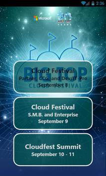 MS CloudFest Day1 poster