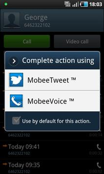 MobeeVoice(tm) apk screenshot
