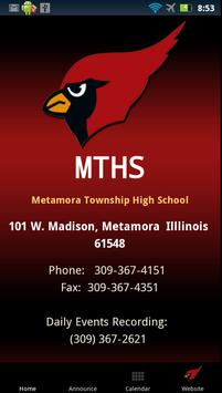 MTHS Android App poster