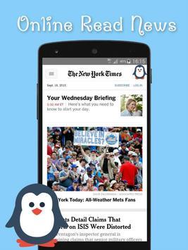 Penguin Web Browser apk screenshot