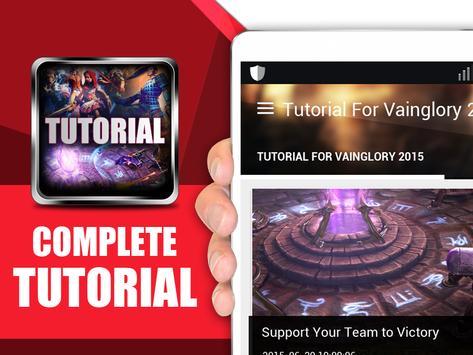 Tutorials for Vainglory apk screenshot