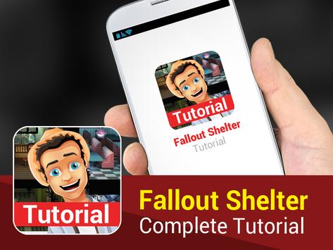 Tutorial for Fallout Shelter apk screenshot