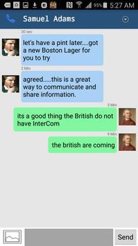 Instant messaging apk screenshot