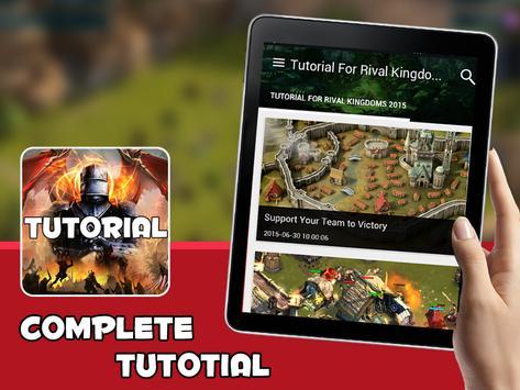 Tutorials - Rival Kingdoms apk screenshot