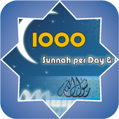 1000 Sunnah Per Day And Night icon
