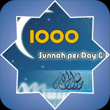1000 Sunnah Per Day And Night poster