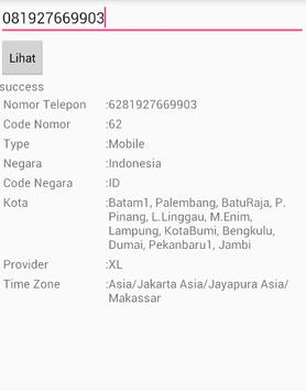 Lacak No Telepon poster