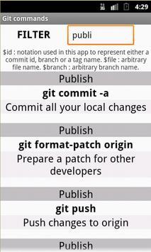 Git Commands / Cheat Sheet apk screenshot