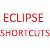102 Eclipse Shortcut Reference icon