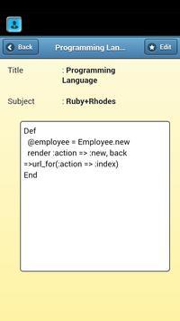 Employee Bio apk screenshot