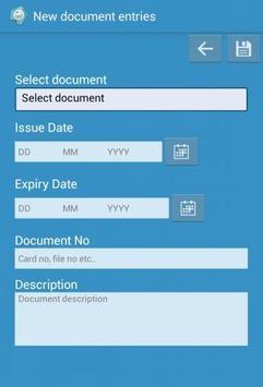 Document Notification apk screenshot